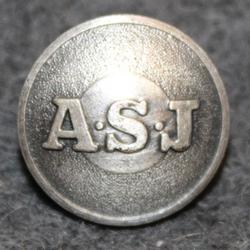 AB Svenska Järnvägsverkstäderna / ASJ, 13mm, gray, v2