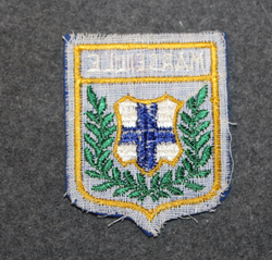 Marseille, souvenir patch.