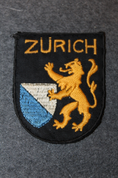 Zürich, souvenir patch.