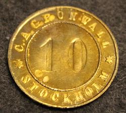 C.A.Grönwall Stockholm, ( Grönwalls bryggeri ). Olutpanimo <1912
