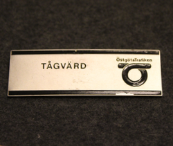 Tågvard, Östgötatrafiken. Train security.  LAST IN STOCK