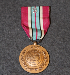 United Nations UNDOF medal.