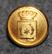Marstrands kommun. Ruotsalainen kunta, 14mm, kullattu