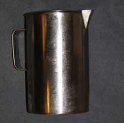 Finnish Army, OPA stainless steel jug. SA Int/42 stamps. Issued, storage grade.