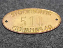 Stockholms Frihamns AB. Free port company. LAST IN STOCK