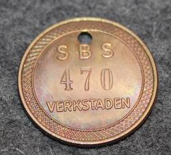 SBS, Stockholms Bomullsspinneri & Väfveri, verkstaderna. Cotton mill