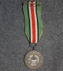Tampella 25 year service award.
