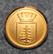 Hedemora kommun. Ruotsalainen kunta, 14mm kullattu