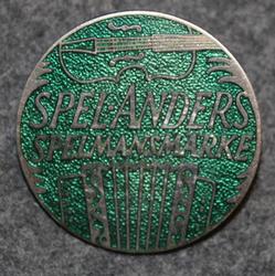 Spel Anders, Spelmansmärke. LAST IN STOCK