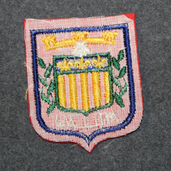 Millau, souvenir patch.
