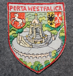Porta Westfalica, souvenir patch.