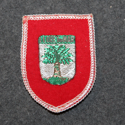 Lloret de Mar, souvenir patch.