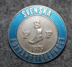 Svenska fotvårdsförbundet, SFF, ruotsin jalkahoitajien liitto, hopeaa