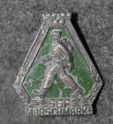 Svenska Gångförbundet SGF, Marssimerkki