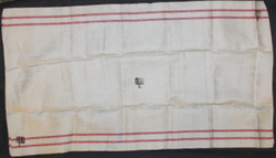 Linen Towel, Finnish army medical corps, ( ww2 ) SA L+V 1941 stamped