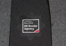 UK, Home Office / Border guard, Customs... Tie, black.