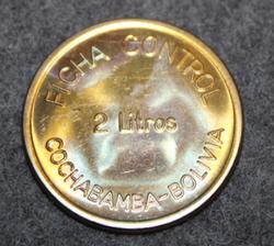 PIL Ficha Control 2litre, Cochabamba - Bolivia, maitorahake