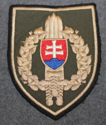 Slovakian Army, shoulder sleeve patch