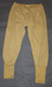 Long Johns, Dutch Army, unissued.