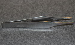 Tweezers, stainless. Danish army