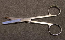 Medics scissors stainless. Danish army