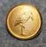 Marabou, karamellitehdas. Vanhan mallin lintu logo. 15mm