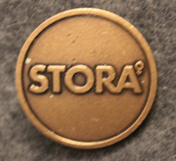 Stora. Swedish paper and pulp industry corporation. 25mm