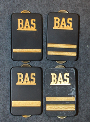Securitas rank badges, BAS