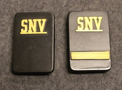 Securitas rank badges, SNV, w/o backplate and nuts
