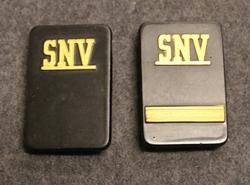 Securitas arvomerkit, SNV, ilman muttereita ja levyä