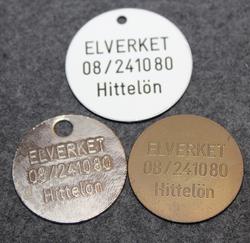 Stockhoms Elverk, Hittelön, avaimenperä löytöpalkkiolla.