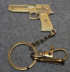 Pistooli avaimenperä,