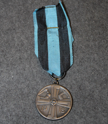 Commemorative Medal of Finnish liberation war 1918. + document.