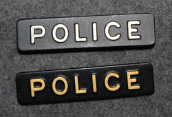 Police, uniform insignia