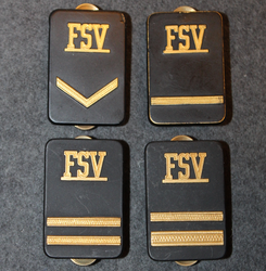 Securitas rank badges, FSV