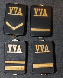 Securitas rank badges, VVA