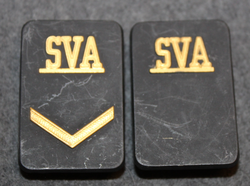 Securitas arvomerkit, SVA, ilman muttereita ja levyä