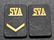 Securitas rank badges, SVA, w/o backplate and nuts