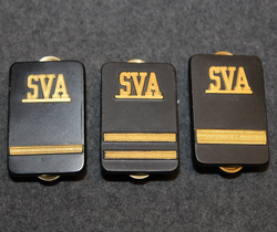 Securitas rank badges, SVA