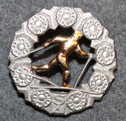 Skiing achievement badge, Finnish Army