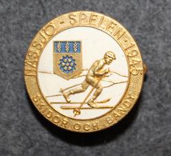 Nässjö - Spelen Skidor & Bandy 1945