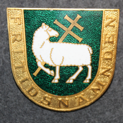Järfälla Fritidsnämnden, badge of the board of recreational activities