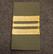 M/91 arvomerkit, velcro, Korpraali - Eversti