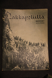Hakkapeliitta magazine, vol 1938. Finnish Civil guard.