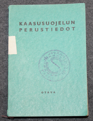 Chemical warfare training manual, Finnish Civil guard 1936