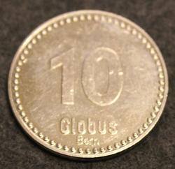 Mutzen-Taler Globus Bern 10