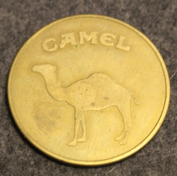 R. J. Reynolds Tobacco International. Camel. Tobacco company coin.