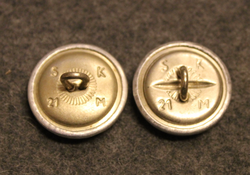 German Army, 21mm, uniform button