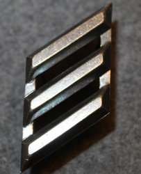 Rank insignia, metal. German Army