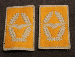 Collar tabs, Luftwaffe.